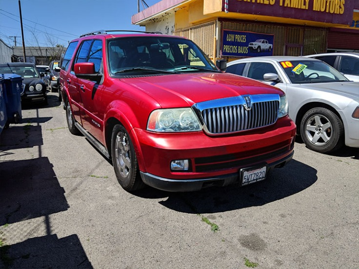 2006 Lincoln Navigator Red 6995