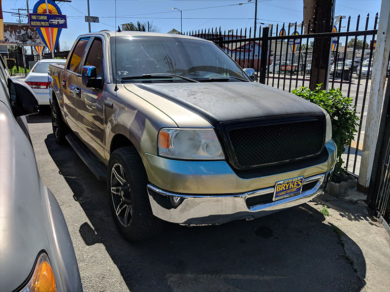 2007 Ford F150 Gold